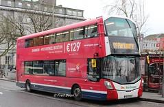 Bus Eireann VWD54 (152G2176). (Fred Dean Jnr) Tags: buseireann january2018 buseireannroute409 volvo wright eclipse gemini eyresquaregalway galway alloverad norwegian vwd54 152g2176