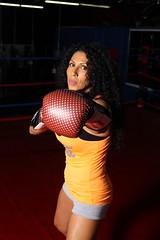 Left (California Will) Tags: edna latina beauty beautiful hermosa fitness boxing