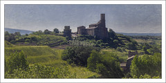 Tuscania(Italy) (williamwalton001) Tags: texture trees buildings church colourimage pentaxart landscapephoto grasses