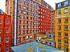 London, England (duaneschermerhorn) Tags: architecture building skyscraper structure highrise architect modern contemporary modernarchitecture contemporaryarchitecture color colour colourful colorful courtyard