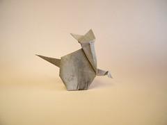 Cat - Stephen Weiss (Rui.Roda) Tags: origami papiroflexia papierfalten chat gato gatto cat stephen weiss