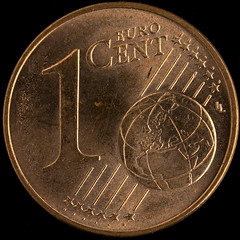 MM - Less Than An Inch - 1 Euro Cent (stefanfricke) Tags: coin copper euro cent macromondays macro lessthananinch sony ilce7rm2 sel50m28