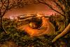 楊梅之眼/ The eye of Yangmei Taiwan (傑可) Tags: fisheye road taiwan lightpainting 8mmfish ultrawide starburstsunstar nightview