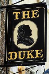 The Duke (NottsExMiner) Tags: leinster dublin templebar republicofireland roi pub sign brewery local inn hotel traditionalandnotsotraditionalukpubsigns ukpubsigns pubsigns oldnewpubsandsigns canoneos7d sigma70200mmf28apodghsm newyear