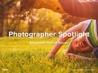 Photographer Spotlight - Elizabeth Sallee Bauer