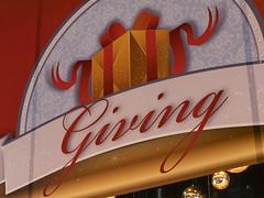 "Macy's Holiday Windows - ""Giving"" (Stuart Fujiyama) Tags: illinois chicago loop north state street macys holiday windows"
