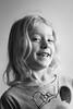 Smile (Castorian) Tags: bw girl desaturate smiling happy flicka glad portrait porträtt