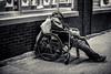 Slumber In The City (Off The Beaten Path Photography) Tags: slumber homeless human humans wheelchair street streets chicago markiii 5dmarkiii canon city