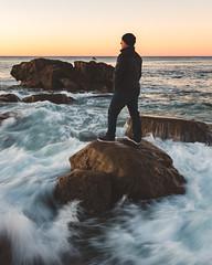 Laguna Selfie (RyanLunaPhotography) Tags: 2470 6d california canon heislerpark lagunabeach ocean orangecounty socal southerncalifornia sunrise beach landscape seascape