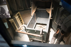 Resistance pistol hidden inside a pram (quinet) Tags: 2017 amsterdam antik diamon dutchresistance gassen netherlands verzetsmuseum ancien antique diamond diamone factory museum musée northholland neterlands 528