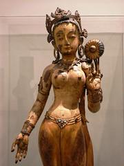 White Tara (Sitatara), 2300-1400, Malla Period (jacquemart) Tags: thevictoriaandalbertmuseum london va whitetarasitatara 23001400 mallaperiod