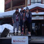 Kristina Natalenko 3rd U19 at Kimberley Dreadnaught FIS Downhill