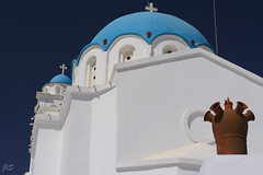 Church at midday sun, Apollonia (JLS@Photos) Tags: monument sifnos grèce eglise cyclades church greece