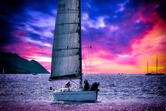 Voilier en rade de Marseille (thierrybalint) Tags: voilier rade baie marseille nikoniste sport nautique voile sea boat sailing ship bay roadstead sky