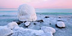ice age (Sandra Bartocha) Tags: panoramen rügen sandrabartocha ostsee balticsea ice winter iceage turquoise sea seascape