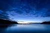 早朝ブルモーメントーEarly Morning Blue Moment (kurumaebi) Tags: yamaguchi 秋穂 nikon d750 nature 自然 landscape 海 sea morning 朝 景色