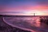 Winter mood (Zscherny) Tags: wasser water morgen morning see lake pegelturm germany deutschland sun sunrise colours clouds