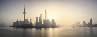 Future city in panorama