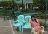 Want some? (joyful JOY) Tags: asian pinay filipina portrait bythepool chillin pringles