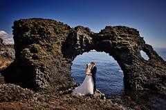 Anjo & Patrick (LalliSig) Tags: wedding photographer iceland people portrait portraiture snæfellsnes summer july arnarstapi