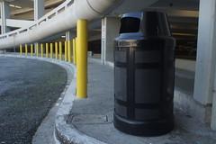 Yellow Poles Black Trash (gabriel_golden) Tags: sony nex3 canon fd 28mm f28 lens turbo ii