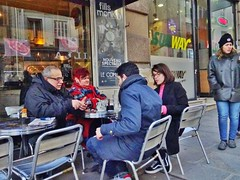 2018-02-17  Paris - Empire Bar - Rue des petits carreaux - Rue Réaumur (P.K. - Paris) Tags: paris février 2018 february people candid street café terrasse terrace
