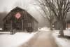 (SONICGREGU) Tags: foggyday 35mm clarksonontario clarksonmississauga clarkson snow barn bradleymuseum february fog winter nikond610 nikon canada ontario mississauga