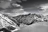Livigno (Petr Horak) Tags: livigno lombardy italy ita alps mountains vista bw blackandwhite monochrome acros slope winter snow cloud sky fuji x100f europe landscape