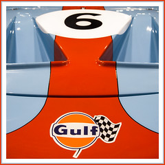 Classic Ford GT40 in Gulf Livery (Dave Denby) Tags: gt40 ford gulf racing classic car sports iconic colours colors supercar