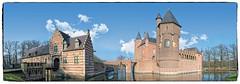 Castle Heeswijk (Stan de Haas Photography) Tags: architecture castle heeswijk kasteel netherlands ancient attraction beautiful brick bridge building classic dutch europe fort fortification fortress gates gothic haar standehaas