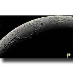 Mare Crisium (Marcelo Seixas) Tags: mare crisium mar ladovisível lua lavas basálticas cercadas terrasaltas marecrisium mares lunares impacto meteoro cometa nordestedalua impactos yerkes lick marceloseixas skywatcherboa vista roraima brasil