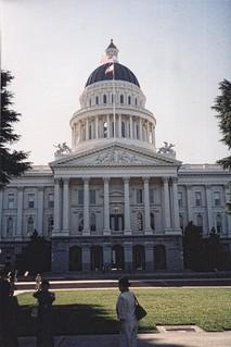 Sacramento  California - California State Capitol  - Historic Building