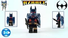 Azrael Batman (machinsean) Tags: lego legosuperheroes batman azrael poppunkmunkey minifigure
