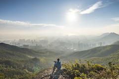 飛鵝山,Kowloon Peak,HongKong (TaiNg17) Tags: nikon d810 飛鵝山 kowloonpeak hk 香港 樓 山 太陽