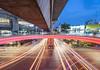 Speedo (ftfonthong) Tags: lights lighttrails cityscape city thailand twilight bangkok sony siam a7mii