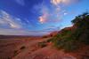 Red clouds over red rocks, Arizona, USA (Andrey Sulitskiy) Tags: usa arizona page