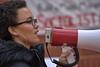 BullHorn (Scott 97006) Tags: woman speech protest bullhorn antitrump nosering