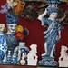 Antique blue porcelain