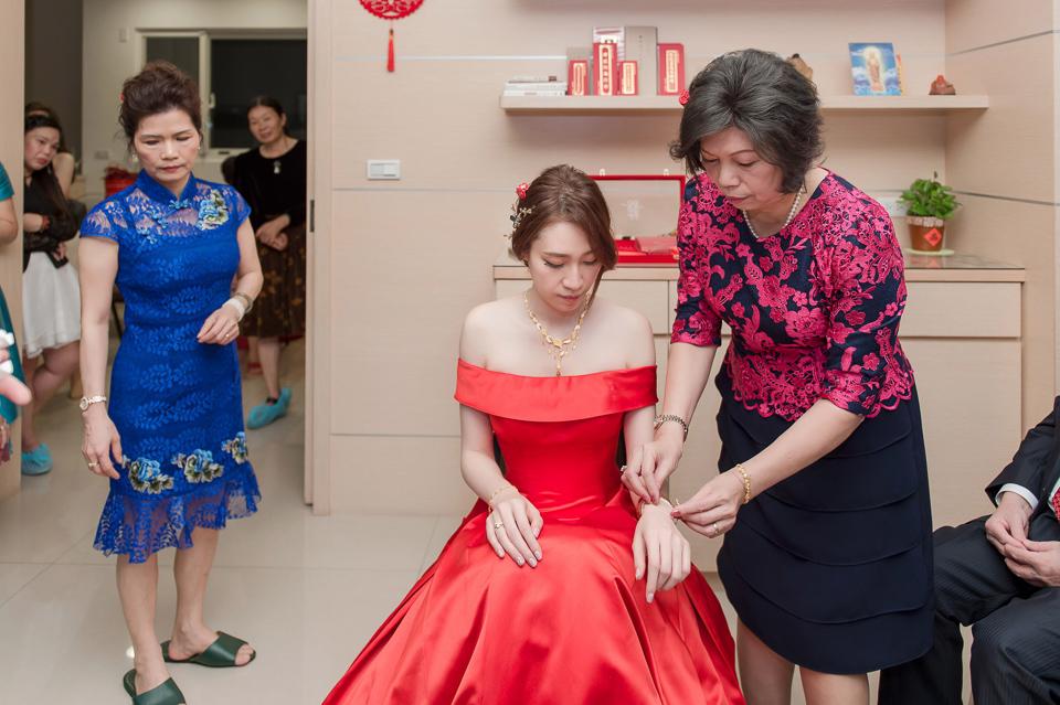 婚攝 高雄林皇宮 婚宴 時尚氣質新娘現身 S & R 029
