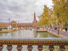 The Plaza de España (✦ Erdinc Ulas Photography ✦) Tags: plaza españa sevilla unesco old ancient landmark tiles art water boat people travel panasonic landscape colourful sky clouds tower focus details building spain spanish city tree green park street tourists light architecture