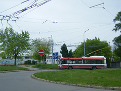 Brno trolleybus No. 3023 (johnzebedee) Tags: trolleybus transport publictransport vehicle brno czechrepublic johnzebedee skoda skoda21tr