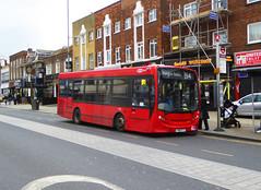 GAL 150 - YX60FTT - BEXLEYHEATH BROADWAY - FRI 2ND FEB 2018 (Bexleybus) Tags: adl dennis enviro 200 bexleyheath kent tfl route b14 go ahead goahead london broadway
