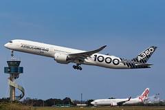 F-WLXV Airbus A35K 34L YSSY-4937 (A u s s i e P o m m) Tags: airbus a35k a3501000 syd yssy sydneyairport aib359 a350xwbtour
