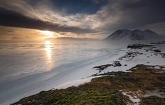 Eismeer (inmyeyespictures) Tags: ice eis island iceland winter 2016 strand beach sunset sonnenuntergang canon 5d iii 16 35 f40 wolken clouds sky himmel meer sea