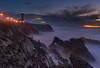 Farol do Penedo da Saudade (paulo.maxim) Tags: sonyilce7m2 zeiss 2470 farol lighthouse portugal sunset sãopedrodemoel penedodasaudade wavesrocks seascape ocean coastline longexposure storm fe2470mmf4zaoss