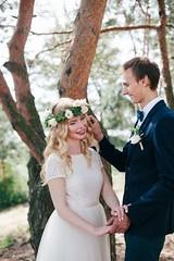 ... (.insideout) Tags: wedding weddinginspiration weddingdress wreath light summer fineart fineartphotography couple lovers love portrait bride groom