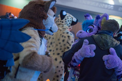 DSC01716 (Kory / Leo Nardo) Tags: furry fursuit suiting dance party dj con convention further confusion fc san jose marriott center 2018 fc2018 pupleo leo kory fur costume costuming cosplay animals