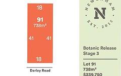 Lot 91 Darley Road, Mount Barker SA