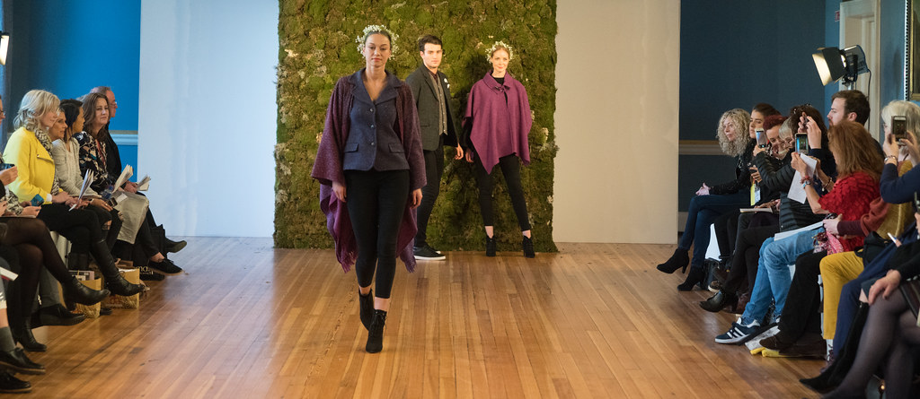 MADE-Slow PRESENTATION OF QUALITY IRISH FASHION DESIGN - STUDIO DONEGAL [FASHION SHOW AT THE RDS JANUARY 2018]-136245