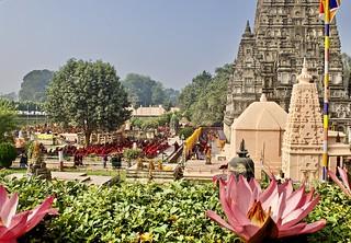 Mahabodhi temple - the origin of Buddhism